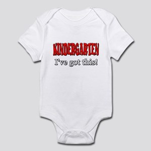 Kindergarten I've Got This Infant Bodysuit